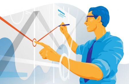 Bagaimana cara menggunakan garis trend untuk melakukan perdagangan pullback di ExpertOption?