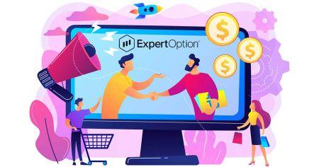 Cara menyertai Program Afiliasi dan menjadi Rakan Kongsi di ExpertOption