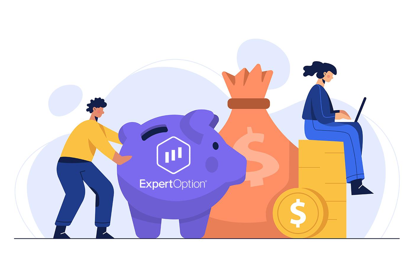 Cara Mendaftar dan Mendeposit Wang di ExpertOption