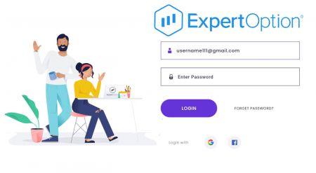 Cara Mendaftar Akaun di ExpertOption