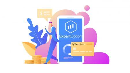 Cara Log masuk dan Pengeluaran Wang dari ExpertOption