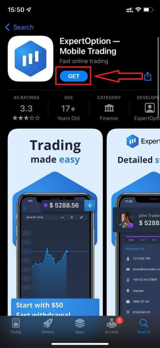 Cara Mendaftar dan Masuk Akaun di ExpertOption Broker Trading